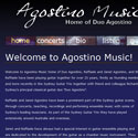Link to Agostino Music website