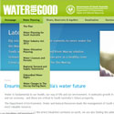 Link to Water for Good website.