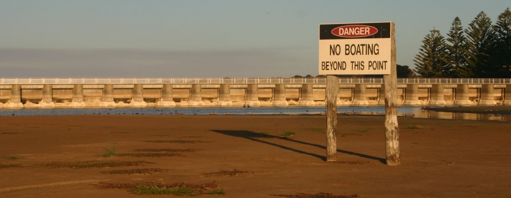 goolwa_barrage_no boating